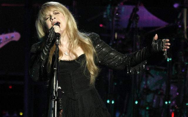 ANAHEIM, CA - MAY 23: Singer Stevie Nicks of Fleetwood Mac performs at the Honda Center on May 23, 2009 in Anaheim, California.